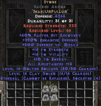 how to create socketed items in diablo 2